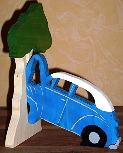 Buchstütze VW Käfer am Baum - 3