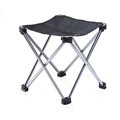 portatile treppiedi pieghevole da campeggio sedia sgabello per viaggi campeggio pesca caccia all
