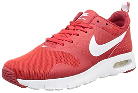 Nike Air Max Tavas, Boys' Low-Top Sneakers, Multicolore (University Red/White-Gym Red), 5.5 UK