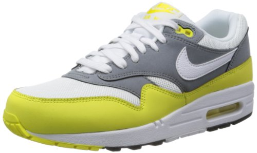 Nike - Nike Air Max 1 Premium, Green, Sneakers a collo basso da uomo Bianco (Weiß (White/Geyser Grey-Lab Green))