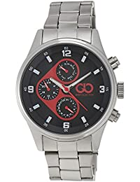 Gio Collection Analog Multi-Color Dial Men's Watch - GAD0038A-B