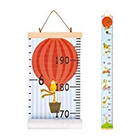 Beinou Wall Growth Chart Wood Frame Height Measurement 7.9