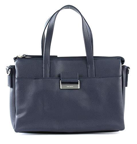 Gerry Weber Damen Talk Different Ii Handbag Shz Henkeltasche, Blau (Dark Blue), 6x21x32 cm
