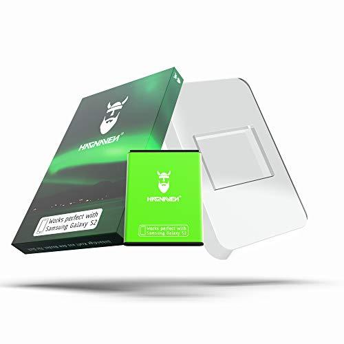Batería Hagnaven® Li-Ion para Samsung Galaxy S2 GT-i9100 | Batería de sustitución MÁS Potente | 1750 mAh | ENERGÍA arrolladora | Celdas Sustituye EB-F1A2GBU