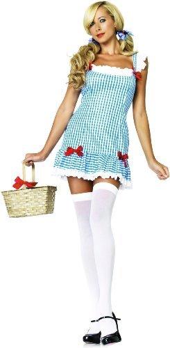 iebling Dorothy Kostüm, Größe M/L, blau (Adult Kostüme Dorothy Kleid)