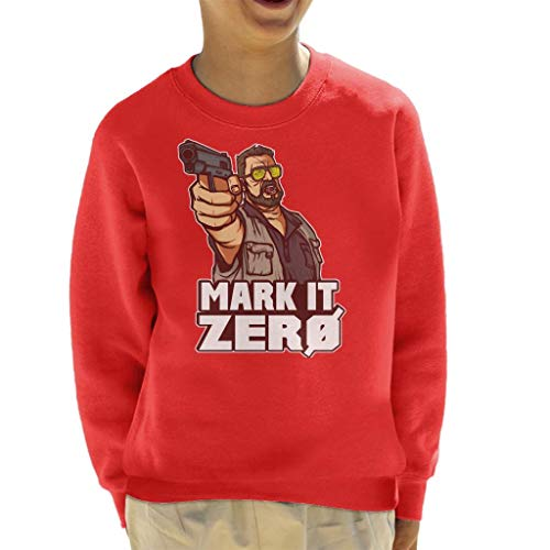 Cloud City 7 The Big Lebowski Mark It Zero Kid's Sweatshirt