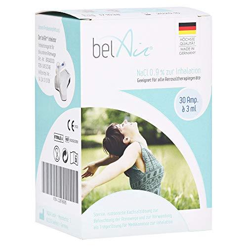 BELAIR NaCl 0,9% Inhalationslösung Ampullen 30x3 Milliliter