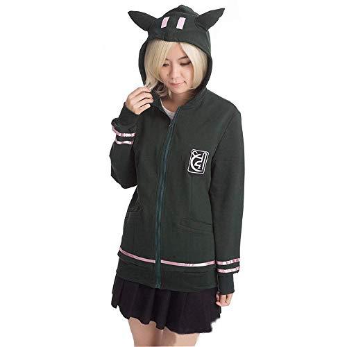 Vokaer Super Danganronpa Chiaki Nanami Cosplay High School Outfit Dress,Coats,XL (Chiaki Nanami Cosplay Kostüm)