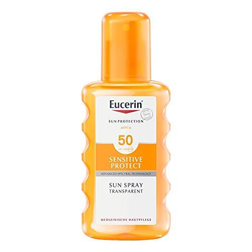 Eucerin Sun Transparent S 200 ml -