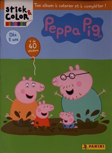 Stick & Color Peppa Pig 2017