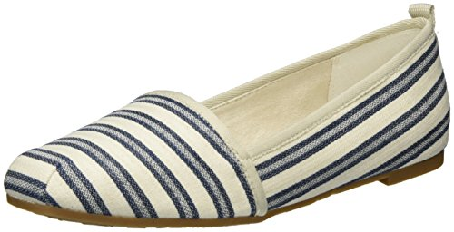 Tamaris Damen 24668 Slipper, Blau (Navy Stripes 874), 36 EU