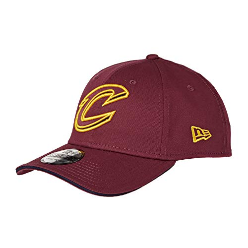 New Era 39Thirty Stretch Cap Visor Cleveland Cavaliers L/XL - Stretch-skull-cap