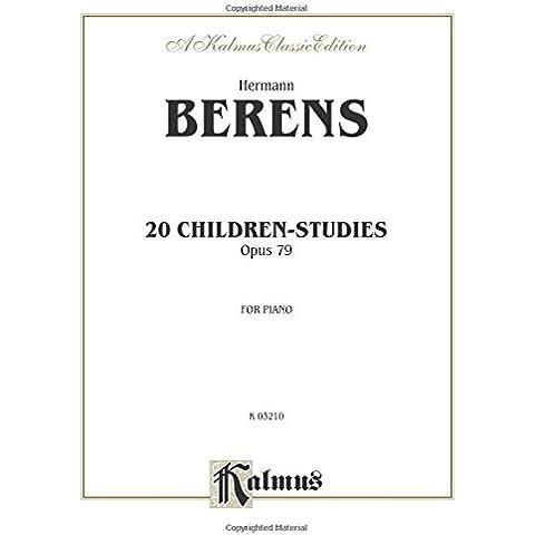 Berens 20 Children's  Studies Op.