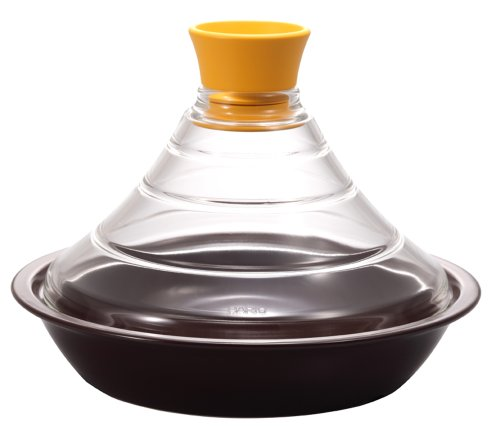 Tagine couvercle Hario pot jaune TN-200MY de verre (japon importation)