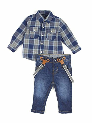 LOSAN COMPLETINO INFANT BOYS, JEANS+CAMICIA 6, Fantasia Quadro MainApps