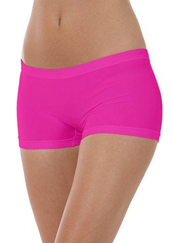 FOCENZA - Pantaloncini donna culotte shorts - intimo donna Fuxia fluo
