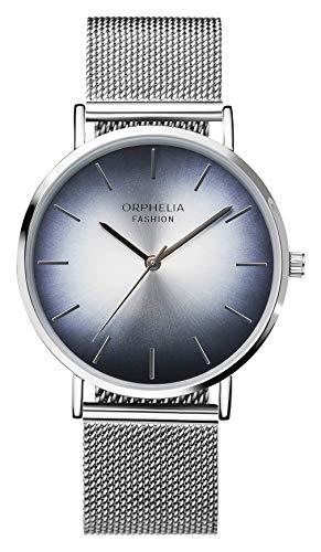 Orphelia Fashion Damen Analog Quartz Uhr Flash mit Mesh Edelstahl Armband