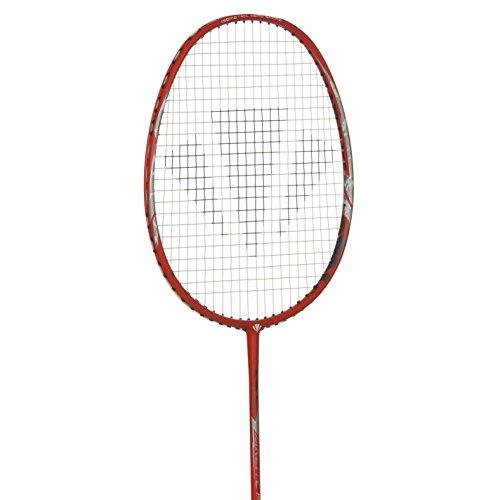 Carlton Airlite Power Badminton schläger rot/Silber Badminton Raquet, rot/Silber, Einheitsgröße