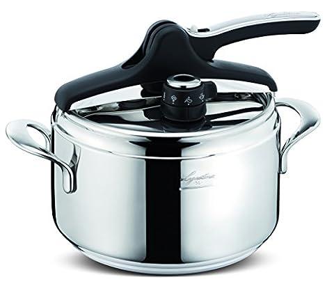 Lagostina Domina Vitamin Pressure Cooker, silver, 5 L