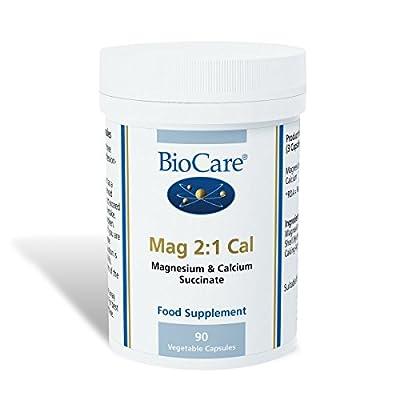 BioCare Mag 2:1 Cal (Magnesium & Calcium) 90 Capsules from Biocare Ltd