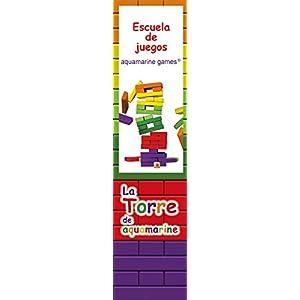 Aquamarine Games – La Torre de Colores XL, Juego de Habilidad (Compudid CPES03)