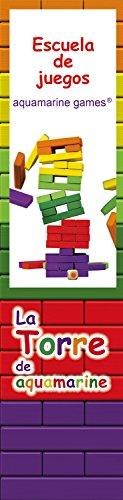 Aquamarine Games - La Torre de colores XL, juego de habilidad (Compudid CPES03)