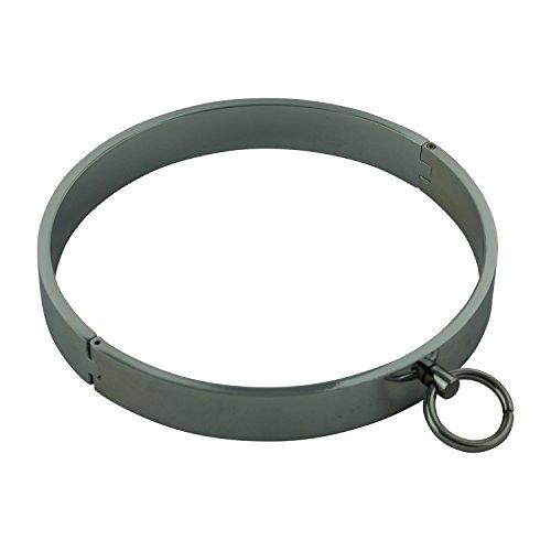 14.5 Hals (BDSM Erotik Stahlhalsring groß chrom Ø 14,5cm Hals bis 45,5cm)
