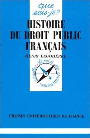 Histoire du droit public français