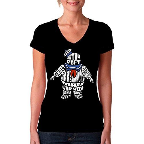 Im-Shirt - Stay Puft cooles Fun Girlie Shirt - verschiedene Farben Schwarz