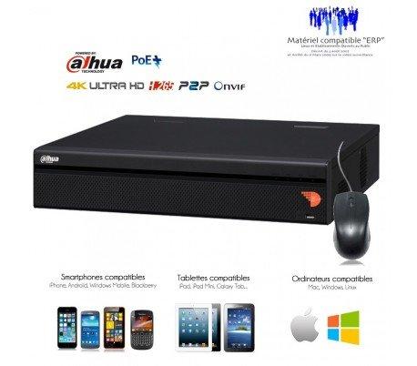 Kameras Überwachung IP-NVR 8Kanäle 4K, 12Megapixel mit 8Ports PoE-nvr-ip5208-534 (8 Nvr Port)