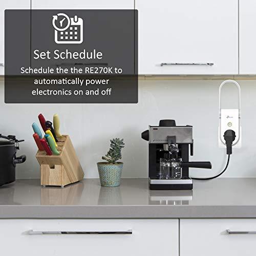 TP-Link RE270K AC750 WLAN Repeater, integrierte Smart Steckdose, funktioniert mit KASA App und Amazon Alexa - 8