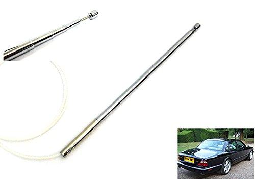 Elektrische Antenne Power Antenne Mast Radio OEM Ersatz Zahnkabel für Vanden Plas XJ XJ6 XJ8 XJR X300 X308 XJS XK8 XKR X100 - Power-antenne, Mast