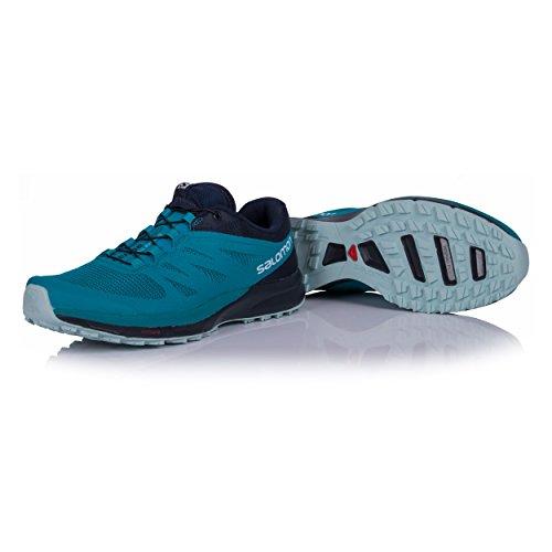 Salomon Sense Pro 2 W, Chaussures de Randonnée Basses Femme, Bleu, 43.3 EU blue