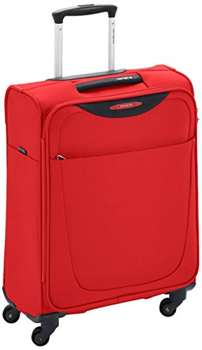 Samsonite Base Hits 4 Roues 55/20 Bagage Cabine, 55 cm, 39 L, Poppy Red