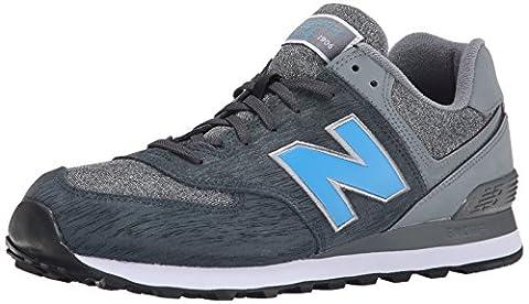 New Balance ML574 D, Baskets mode homme - Noir (Ttc