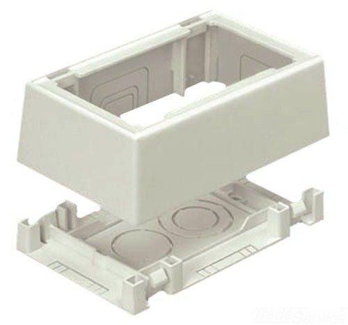 Panduit-snap (Panduit jb1fsiw-a 1Snap zusammen Outlet Box, gebrochenes Weiß, 2-teilig)