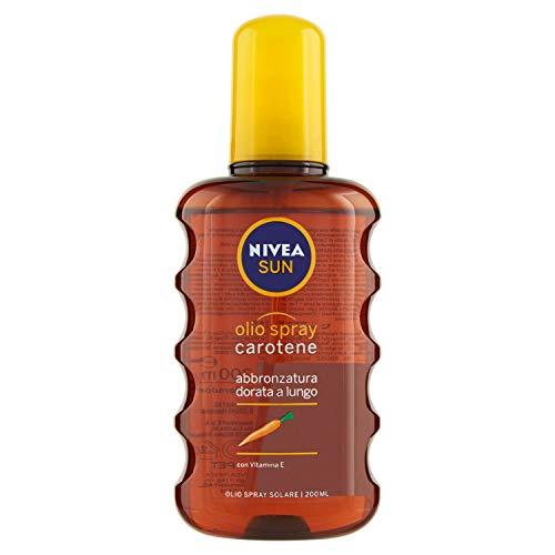 Nivea sun olio solare spray con carotene - 200 ml