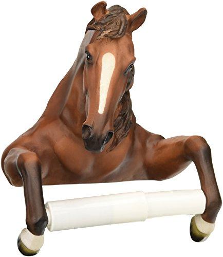Toilettenpapierhalter - Stetig Stallion Pferd Rustikal Badezimmer-Dekor - Toilettenpapier-Rolle - Badezimmer-Wand-Dekor