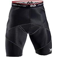 Mc David Short de compression pour hommes avec stabilisation de la hanche et du spica  - Noir - L