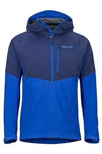 Marmot Herren ROM Jacket Softshelljacke Funktions Outdoor Jacke Arctic Navy/Surf L