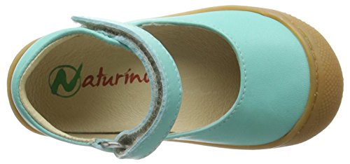 Naturino Naturino 3994, Bottines avec doublure intérieure mixte enfant Turquoise - Türkis (NAPPA SPAZZOLATA ACQUA)