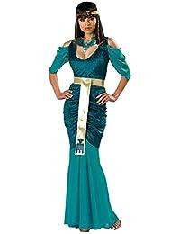 M-XL Costume da dea Greca di Halloween Cleopatra Princess Dress Slim  Evening Gown con 2998625e3dd