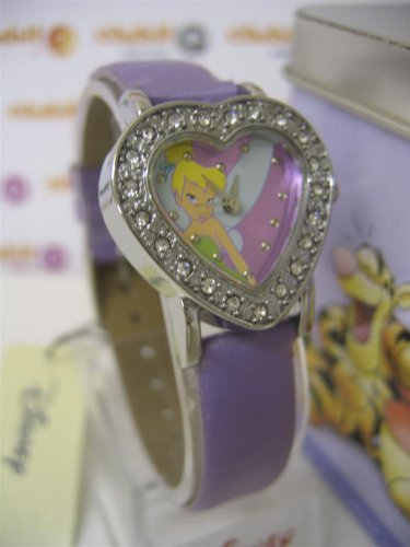 Click for larger image of DISNEY Tinkerbell Analogue Watch and Money Tin (MC1745)