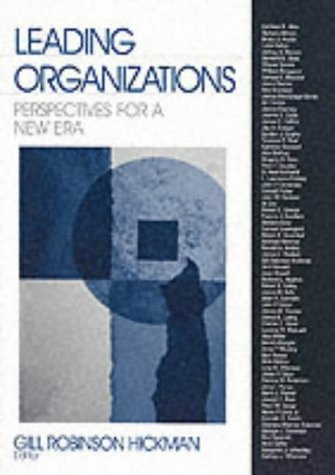 Leading Organizations: Perspectives for a New Era