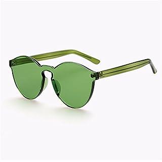 ZYPMM 2017 neue koreanische im Freiendamen Sonnenbrille männliche Plastiksonnenbrille Europa und die Vereinigten Staaten Tendenz Retro Gläser polarisiertes Licht ( Color : Green )