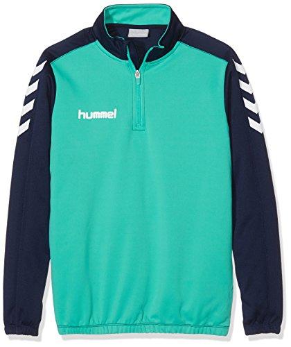 1/2 Zip Pullover Sweatshirt (Hummel Jungen Sweatshirt Core 1/2 Zip, Marine/Atlantis, 140 - 152, 36-895-8622)