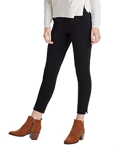 Only Women's Lucy Hailey Women's Black Cropped Pants Black