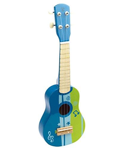Hape International Hape E0317 Ukulele blau Kindergitarre