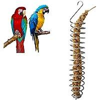 Comedero para pájaros pegtopone cuckoouk de acero inoxidable para exteriores, comedero de pájaros salvajes para colgar, alimentador de semillas para frutas, verduras, comederos para pájaros