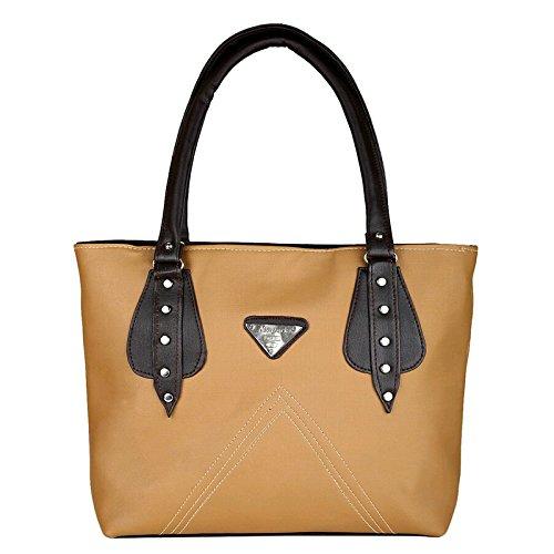 Typify Women\'s Handbag (Tan)